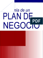 Anatomia de un Plan de Negocios