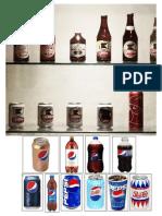 10 Prodcutos de Cerveza, Pepsi y Coca Cola