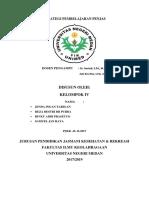 Cbr Kelompok IV Strategi Pembelajaran Penjas