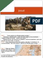 presentación libro de  Josué