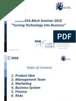 TEAM2 Final Presentation ESA