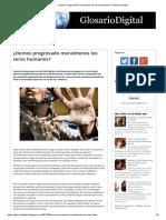 ¿Hemos Progresado Moralmente Los Seres Humanos_ _ Glosario Digital