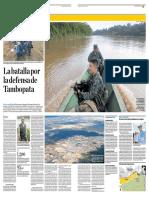 La batalla por la defensa de Tambopata