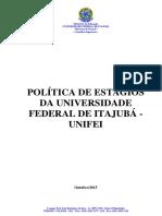 Política de Estágios Da UNIFEI