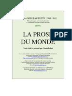 La Prose du Monde.pdf
