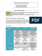 Tabla Comparativa Entre Código, Norma y Especificación en Soldadura