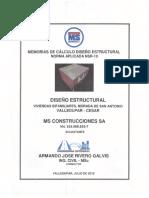 Memorias de Calculo Diseño Estructural Morada 20180714