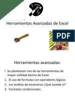 Herramientas Avanzadas de Excel 2018