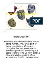 Emotions & Negotiation