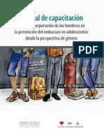 Manual de de capacitación para la incorporación de los hombres en la prevención del embarazo adolescente