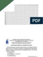 Anexos de Cuadros f y % Dayana