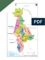 Municipios de San Salvador Mapa
