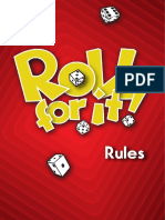 Roll for It Rules