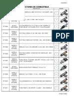 Catálogo de Inyectores de Combustible