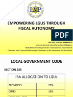 Local Fiscal Autonomy PDF