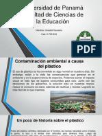 Contaminación Del Plastico en El Ambiente