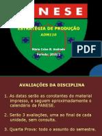 Estrat Prod Unidade1 2010-2 Sistema Academico