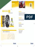 Folder Michelin XF - Equipamentos escavação