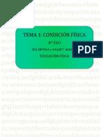 Apuntes 1er Trimestre Condicion Física 4 ESO