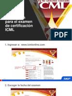 Inscripción Para El Examen de Certificación ICML