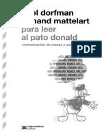 1. Dorfman y Mattelart - Para Leer Al Pato Donald
