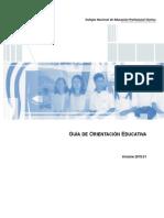 Propuesta Orientación Educativa 2015 CONALEP
