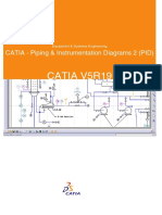 CATIA V5R19 - Piping & Instrumentation Diagram (PID)