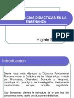 Presentación Secuencias Higinio