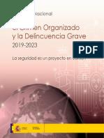 ESTRATEGIA NACIONAL (ESPAÑOLA) CONTRA EL CRIMEN ORGANIZADO Y LA DELINCUENCIA GRAVE 2019-2023. LA CIBERDELINCUENCIA.
