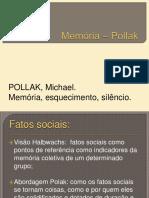 Memória - Pollak