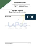Visa POS Integrado - Especificacion protocolo de comunicacion v1_09