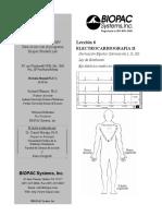 Practica ECG