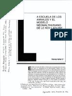 Nettel-Escuela-de-Los-Annales-Modelo-de-Le-Roy-Ladurie