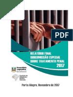 Relatório Final Subcomissão Tratamento Penal da CCDH Assembleia Legislativa do RS