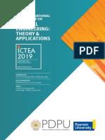 ICTEA2019 Brochure