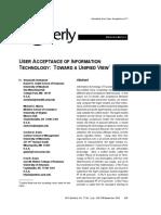 (Venkatesh et al., 2003) User Acceptance of Information Technology Toward a Unified View.pdf