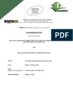 Registration Commissioning Seminar