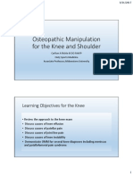 Osteopathic Manipulation For