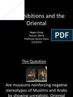 oriental art presentation
