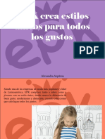 Alexandra Azpúrua - EPK Crea Estilos Únicos Para Todos LosGustos