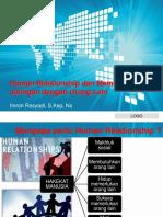 Pertemuan IV Human Relationship Dan Membangun Jaringan