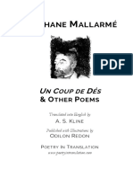 Un Coup de Des & Other Poems - Stephane Mallarme & A. S. Kline.pdf