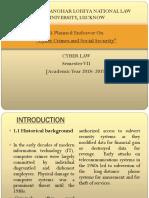 Cyber Law Presentation