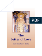 The Letter of Love (Slovo Ljubve) Author Vasil Andjelkovic Spilka