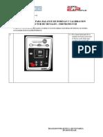 PROCEDIMIENTO PARA BALANCE DE BOBINAS DETECTOR DE METALES ORETRONIC III.pdf