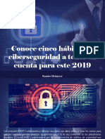 Ramiro Helmeyer - Conoce Cinco Hábitos de Ciberseguridad a Tener en Cuenta Para Este 2019
