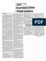Philippine Star, Feb. 28, 2019, Govt urged to protest China threat over illegal workers.pdf