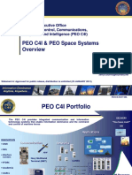 PEO C4I & PEO Space Systems Overview