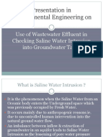 Use-of-Wastewater-Effluent-in-Checking-Saline-Water-Intrusion-Into-Groundwater-Table.ppt