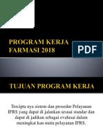 Program Kerja Farmasi 2018 .
